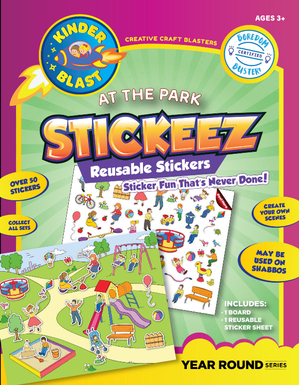 Reusable Stickers - At The Park