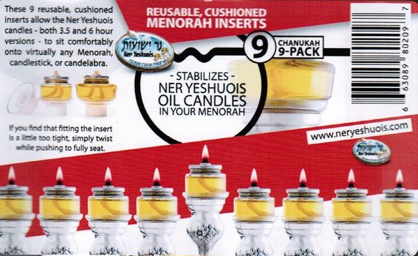 Pre - Filled Oil Adapter - 9 Pack