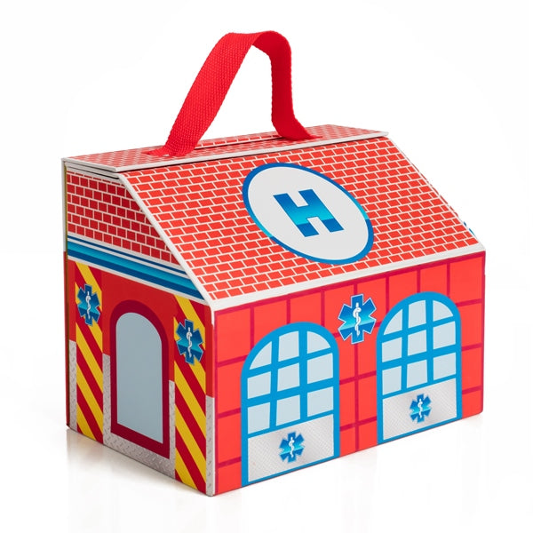 Take Along Dollhouse - Hatzalah