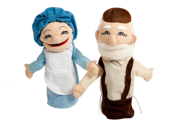 Mitzvah Puppets - Grandparents (Zaidy & Bubby)