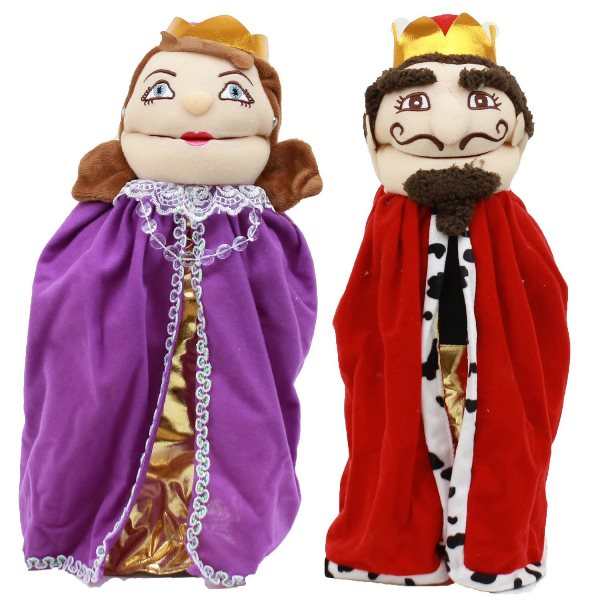 Mitzvah Puppets - King & Queen