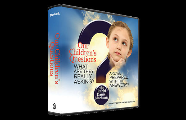 Our Childrens Questions Mesilas Yesharim: Volume 2 (3 Audio CD Set)