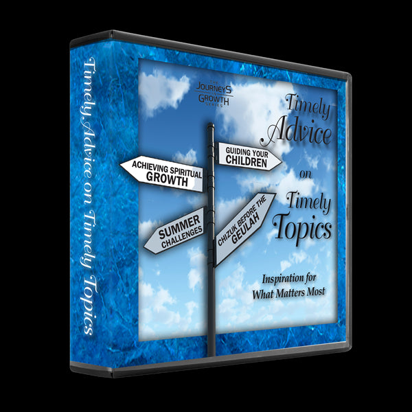 Timely Advice For Timely Topics: Volume 1 (4 Audio CD Set)