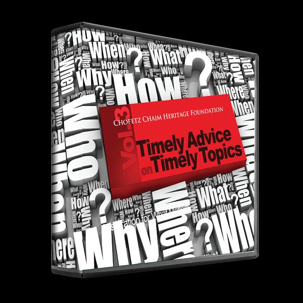 Timely Advice For Timely Topics: Volume 3 (4 Audio CD Set)