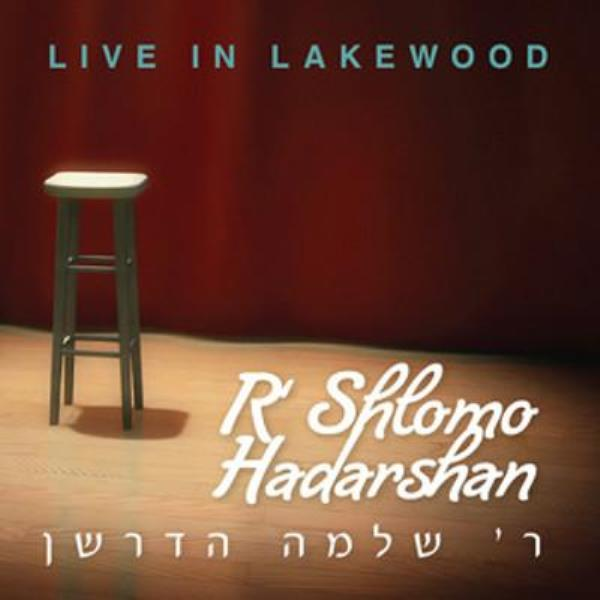 R' Shlomo Hadarshan Live in Lakewood (CD)