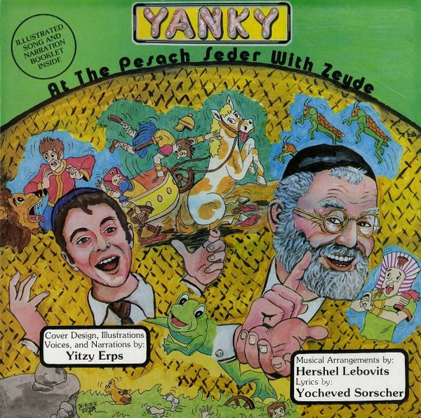 Yanky: At The Pesach Seder With Zeude (CD)