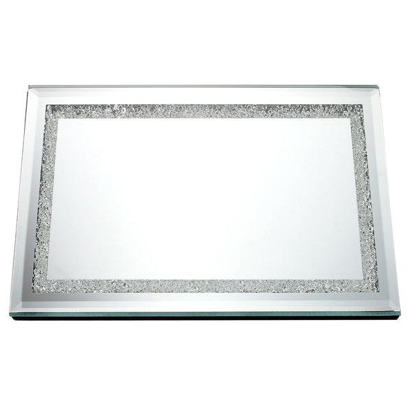 Tray: Mirror & Crushed Glass