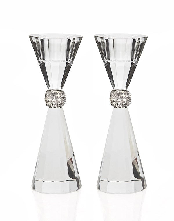 Candlestick Set: Crystal - Palazzo Bling