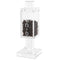 Waterdale Collection: Lucite Magnetic Besamim Holder - Silver