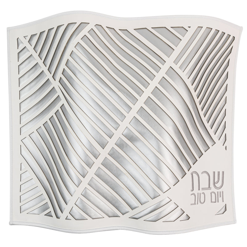 Waterdale Collection: Faux Leather Challah Cover - Laser Cut