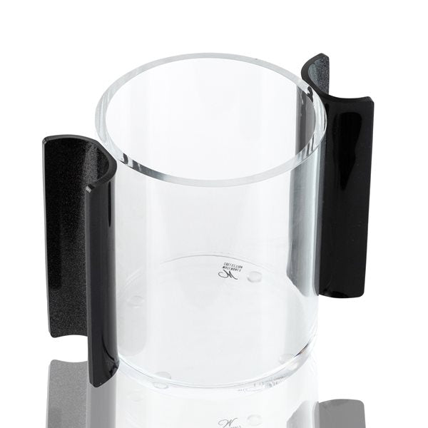 Waterdale Collection: Lucite Wash Cup - U Collection - Black