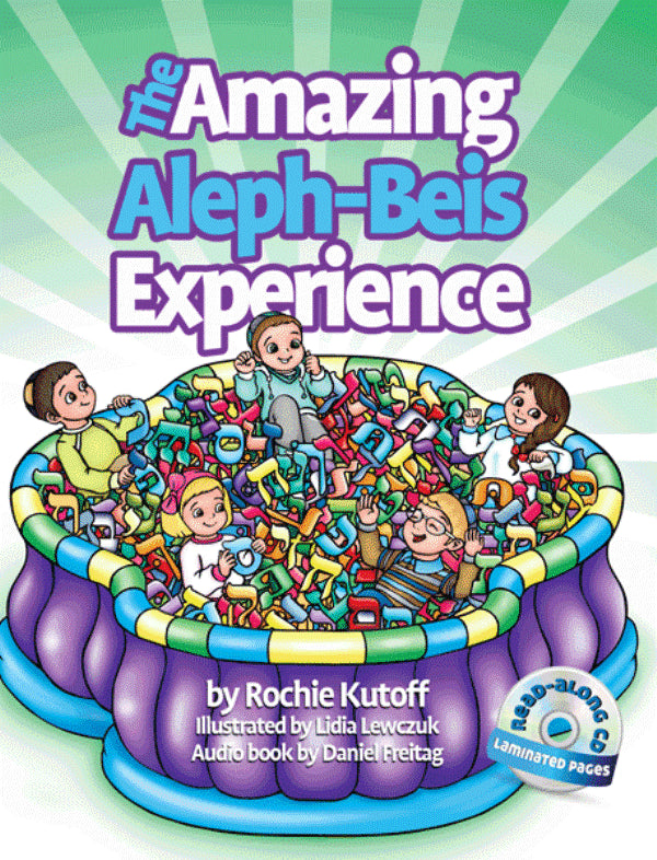 The Amazing Aleph-Beis Experience (Book & CD)