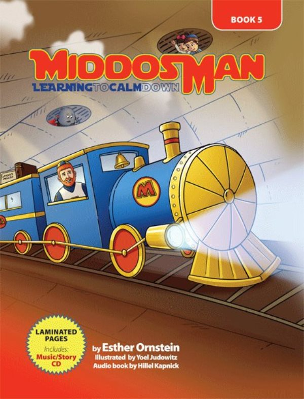 Middos Man: Learning To Calm Down - Volume 5 (Book & CD)