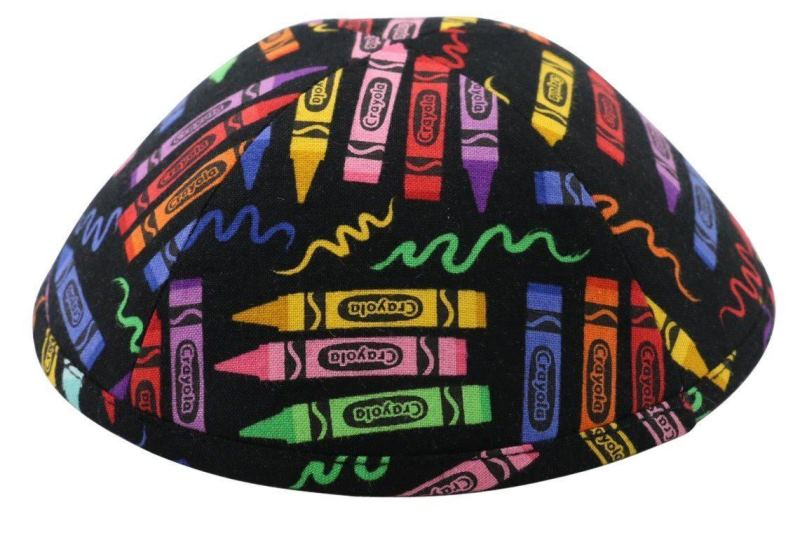 iKippah - Crayon Box Black