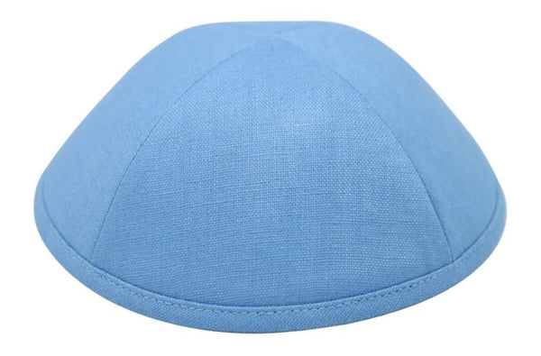 iKippah - Light Blue Linen
