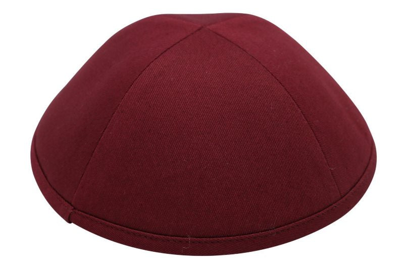 iKippah - Maroon Cotton
