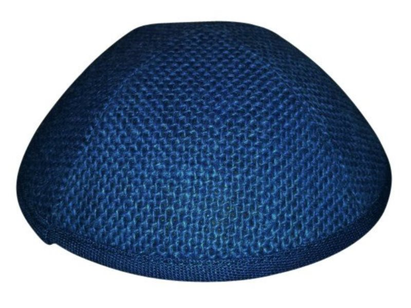iKippah - Royal Blue Burlap