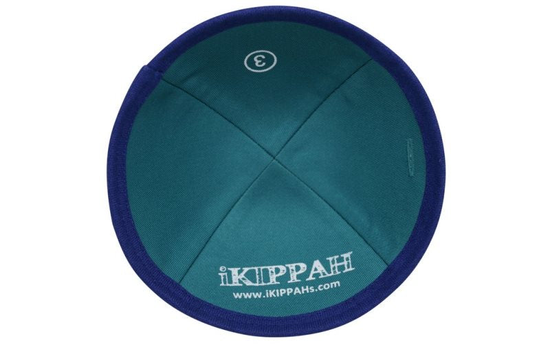 iKippah - Royal Blue Linen