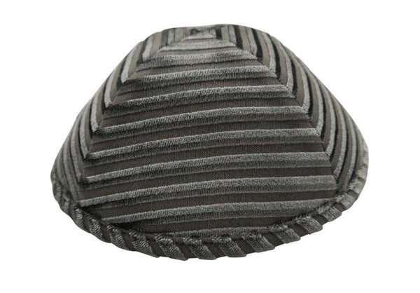 iKippah - Silver Striped