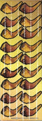 Shofar Stickers 7 Sheets