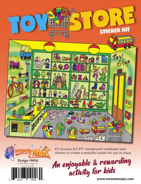 Toy Store Sticker Kit