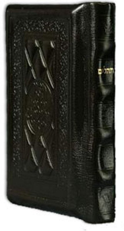 Artscroll Classic Hebrew-English Tehillim/Psalms - Brown Yerushalayim Leather