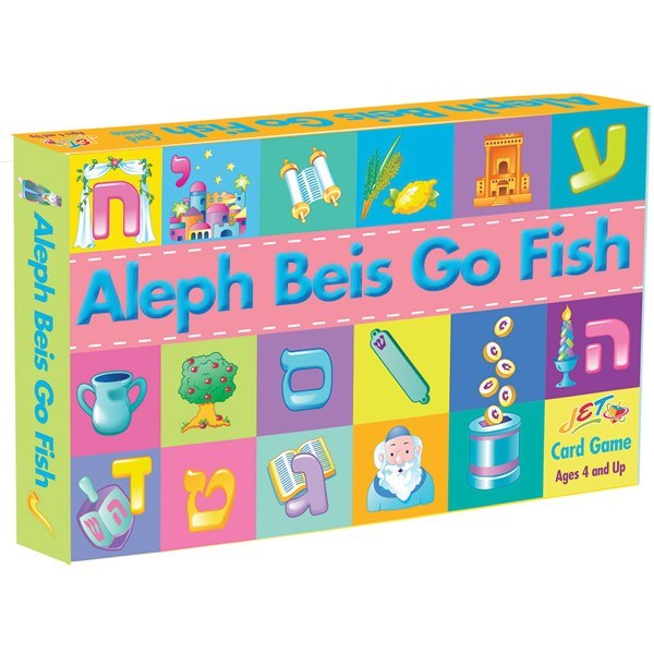Alef Beis Go Fish Card Game