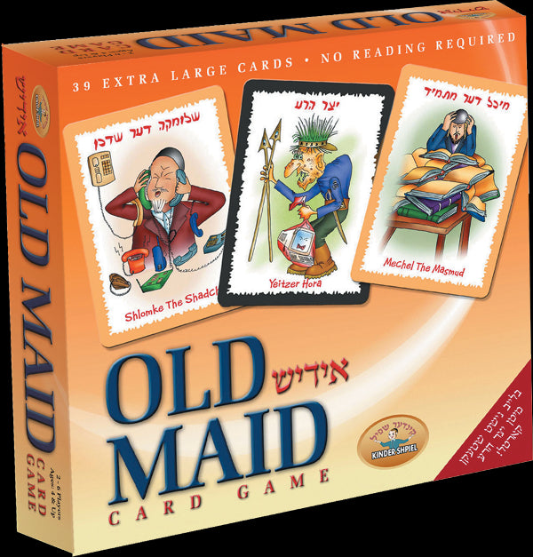 Old Maid - Card Game (Yiddish)