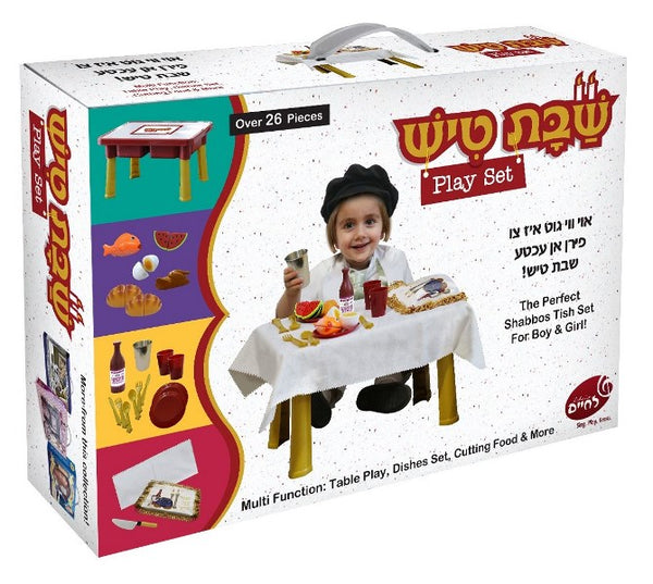 Shabbos Tish Play Set