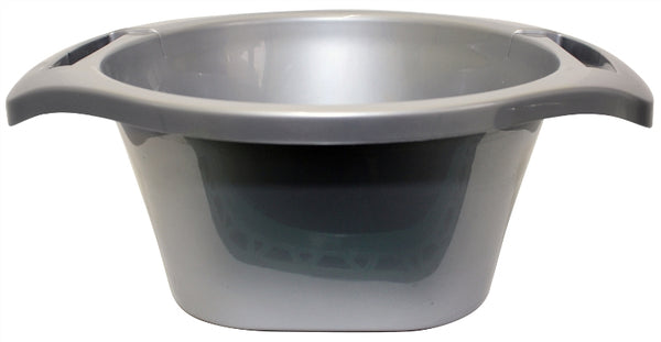 Wash Bowl: Plastic - Grey