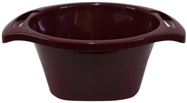 Wash Bowl: Plastic - Maroon