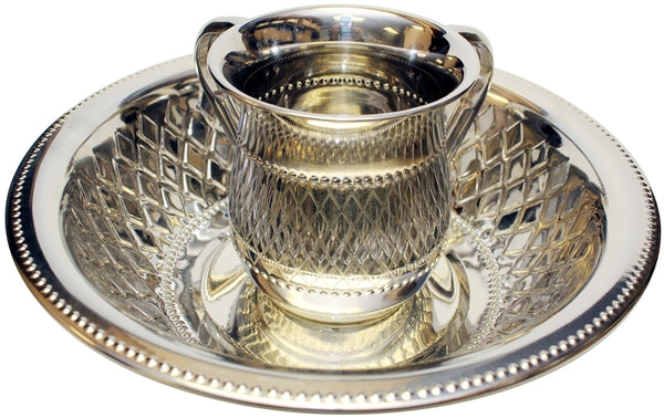 Wash Cup & Bowl: Stainless Steel