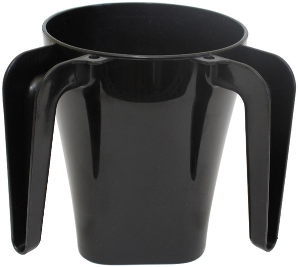 Wash Cup: Plastic - Black