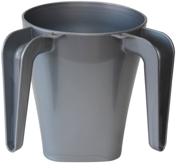 Wash Cup: Plastic - Grey