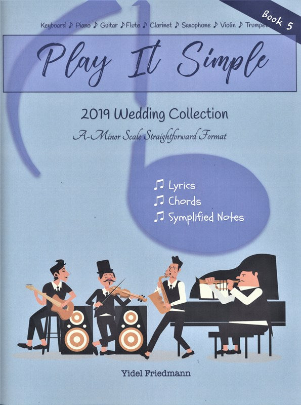 Play It Simple: Songbook Wedding - Book 5