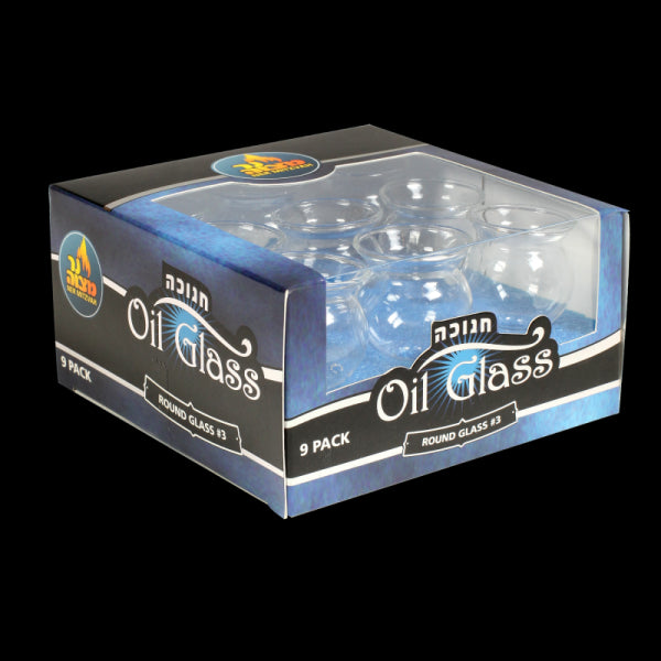 Oil Glass Set Round (9 Pack)