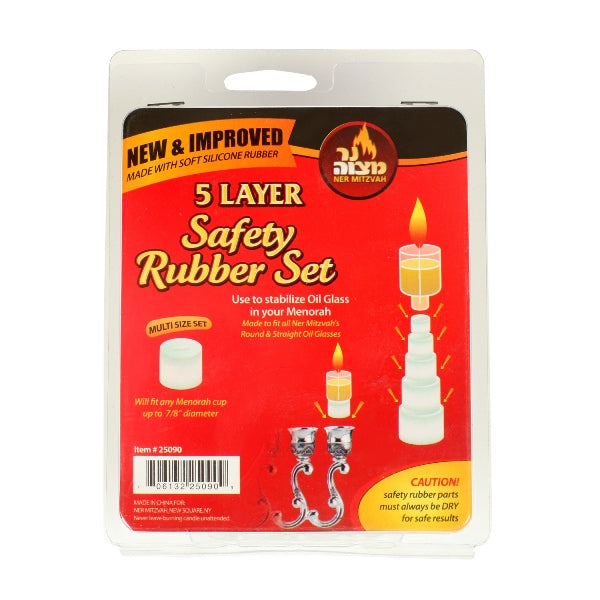Safety Rubber Set - 5 Layer (9 Pack)