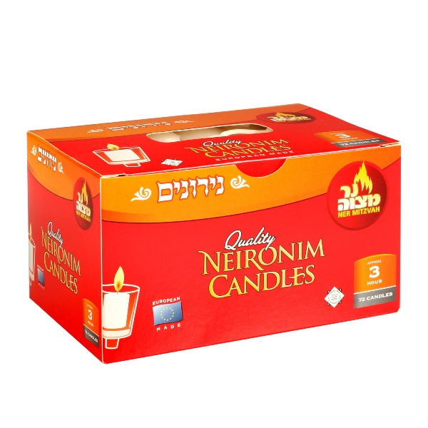 Neironim Candles 3 Hour - 72 Pack
