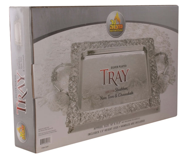 Tray: Square - Silver Plated