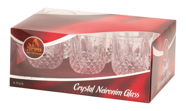 Crystal Neironim Glass Set: 6 Pack