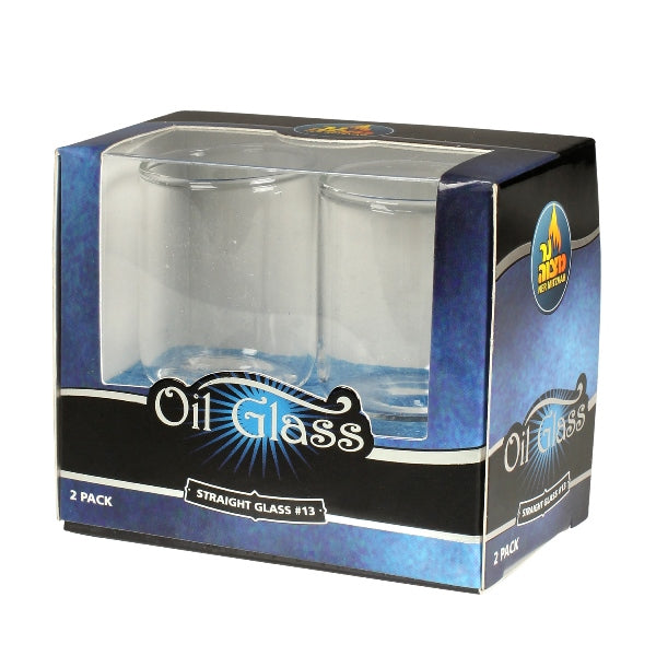Oil Glass: Straight Glass #13 - 2 Pack