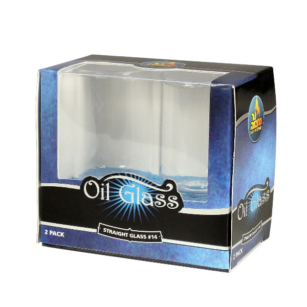 Oil Glass: Straight Glass #14 - 2 Pack