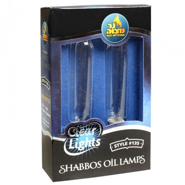 Clear Lights: Shabbos Oil Lamps - #135