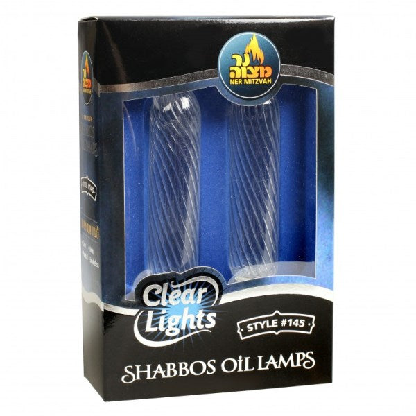 Clear Lights: Shabbos Oil Lamps - #145