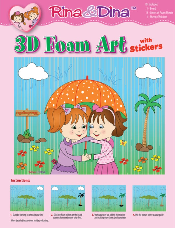 Rina Dina 3D Foam Umbrella Kit