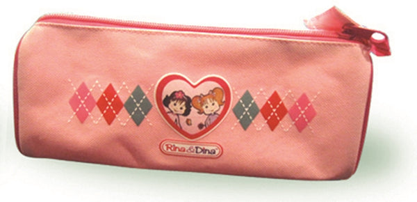 Rina and Dina Zippered Pencil Case