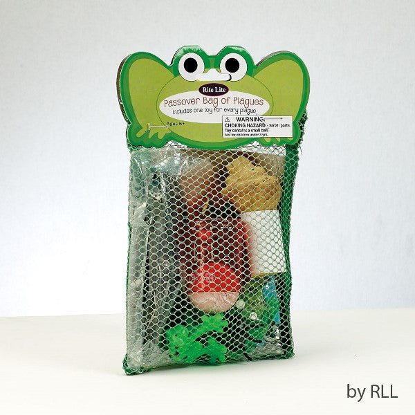 Passover Bag of Plagues: Includes one toy for every plague