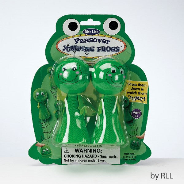 Passover Jumping Frogs (Set of 2)