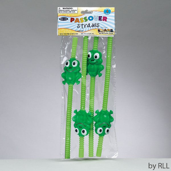 Passover Straws (Set of 4)