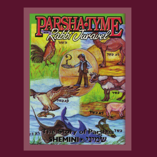 Parshatyme - Stories of Parshas Shemini (CD)